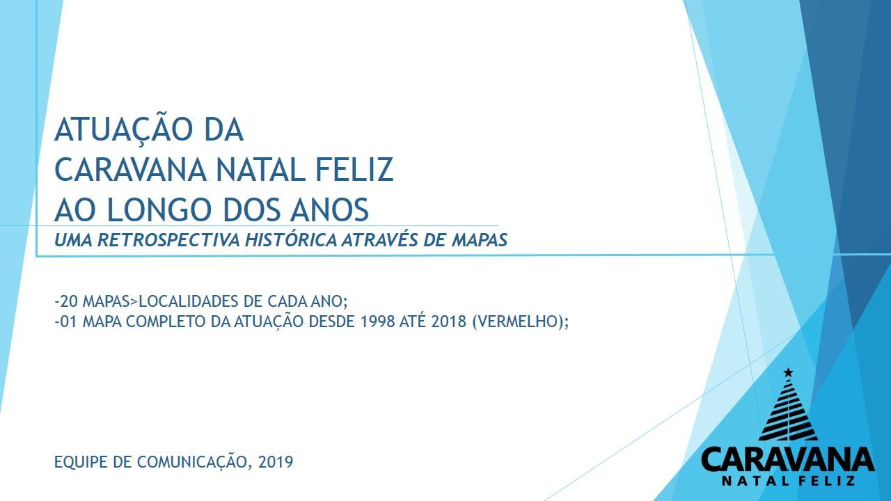 RETROSPECTIVA HISTÓRICA ATRAVÉS DE MAPAS